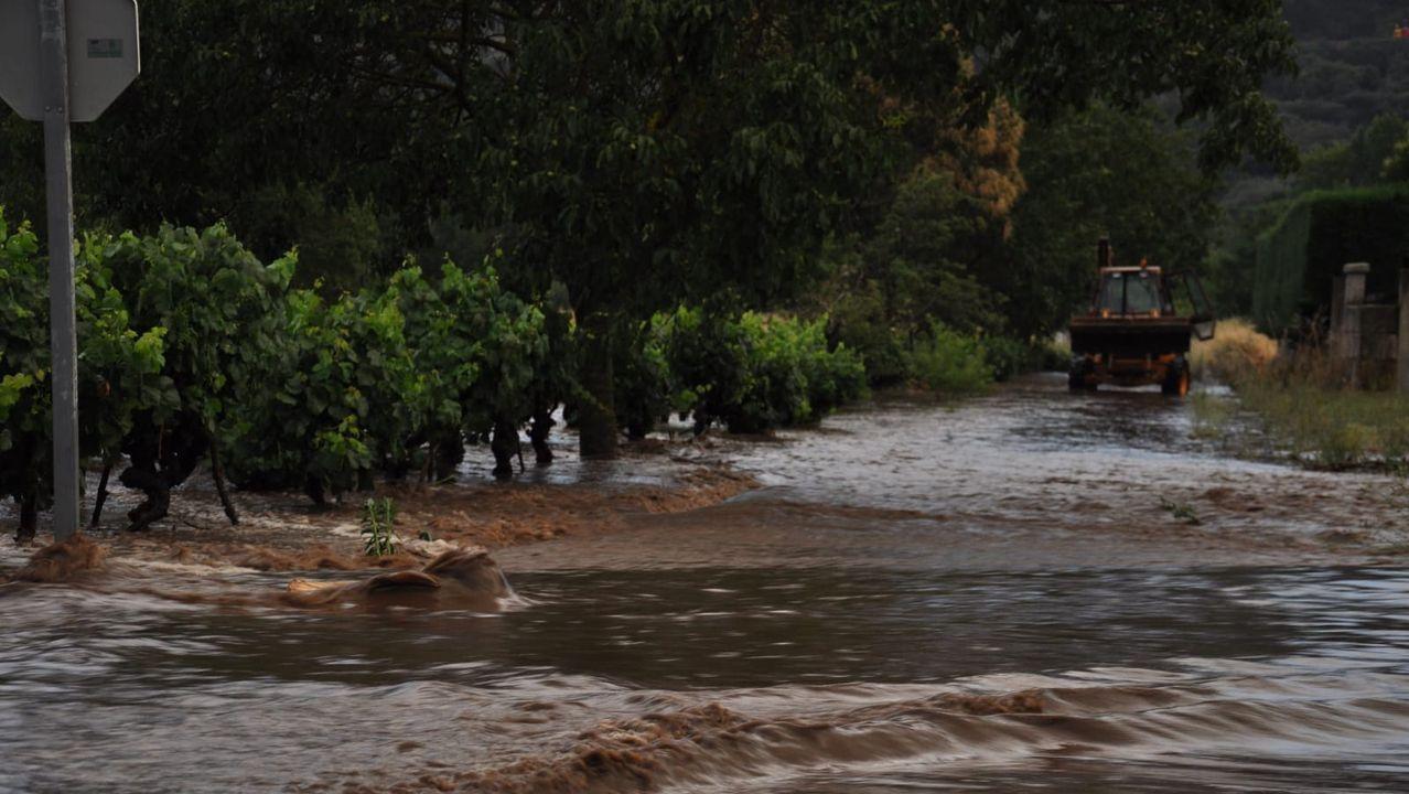 Inundaciones en Albarellos