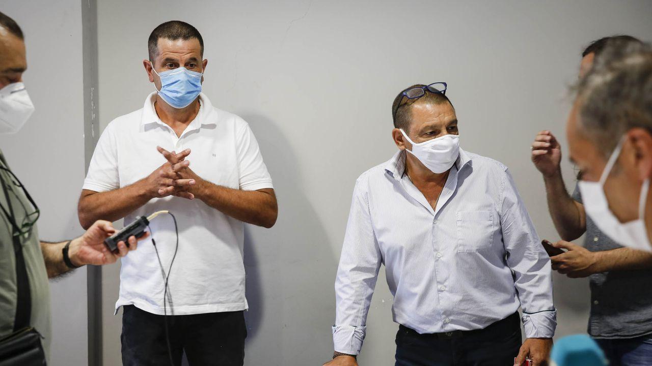 Los dos concejales tránsfugas de Castrelo de Miño