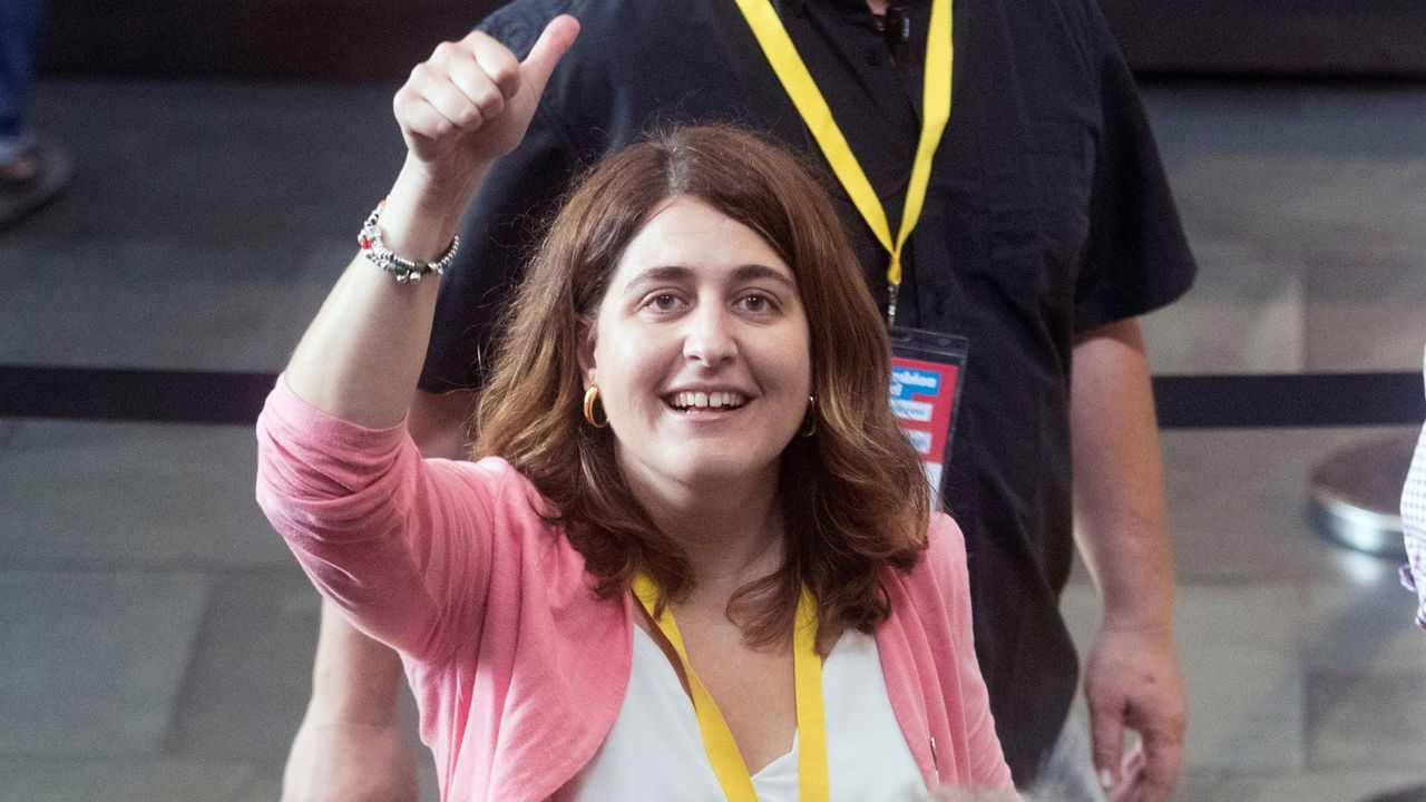 El independentismo reacciona a la sentencia y Torra pide una amnistía.Marta Pascal, senadora del PDECat