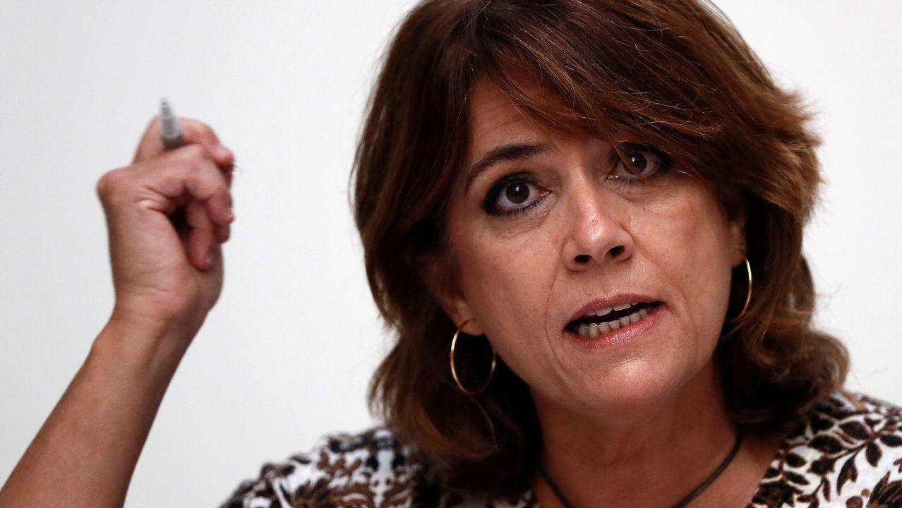 La ministra de Justicia: «No voy a permitir bajo ningún concepto que nadie cuestione mis principios»