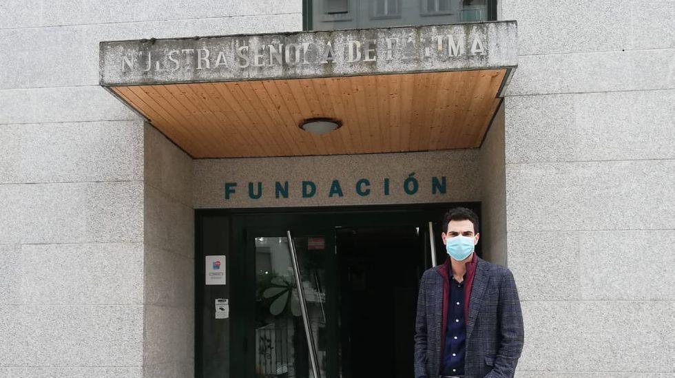 Pablo Fernández es el nuevo director de la residencia Nuestra Señora de Fátima en O Barco