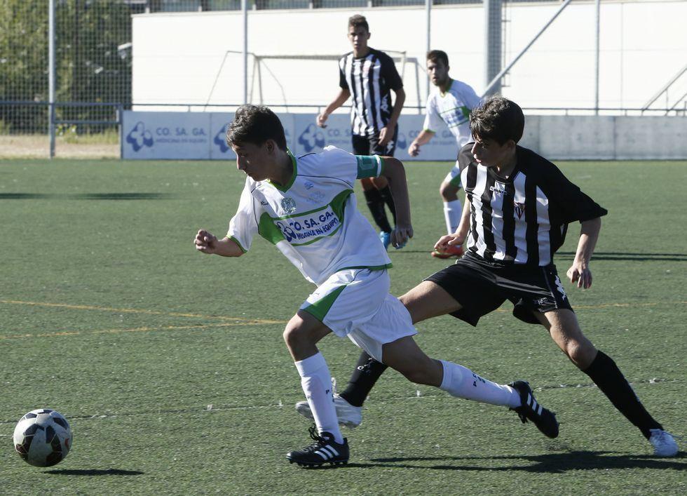 La selección autonómica sub 16 jugó con el Pabellón.