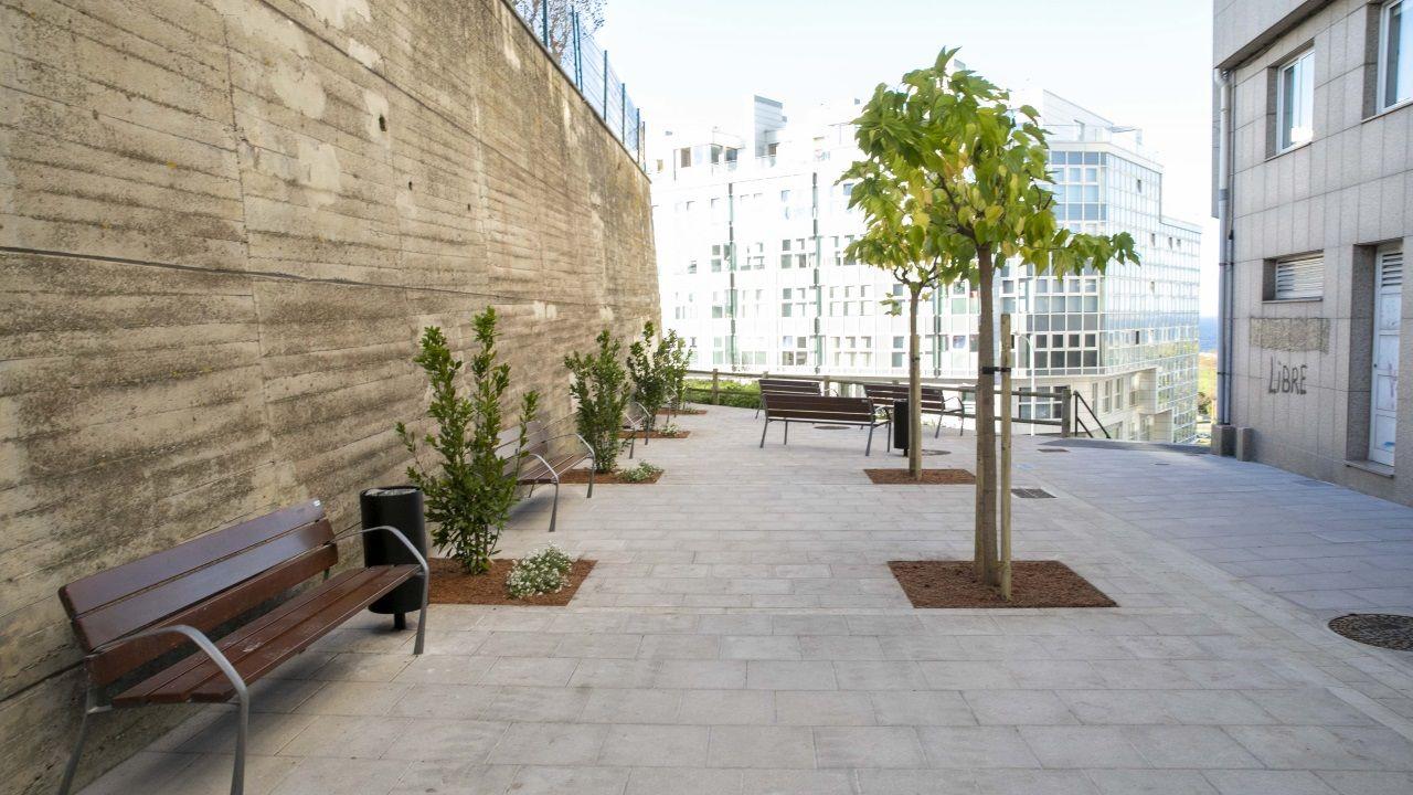 Recreación de cómo será el exterior de la Torre Amura, en el barrio de Someso