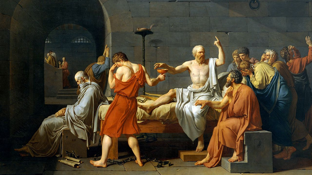 'La muerte de Sócrates' de David