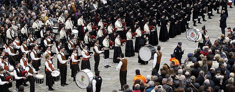 El Partido Popular homenajea a Fraga en Santiago de Compostela