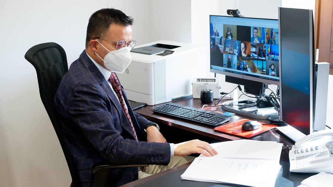 Teodoro García Egea, secretario general del PP, es el negociador de los populares para la renovación del CGPJ