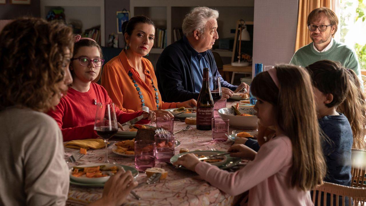 Fotograma del filme de Santiago Segura «Padre no hay más que uno»