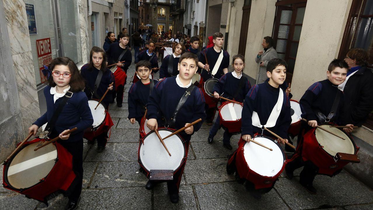 Semana Santa de los niños en Viveiro