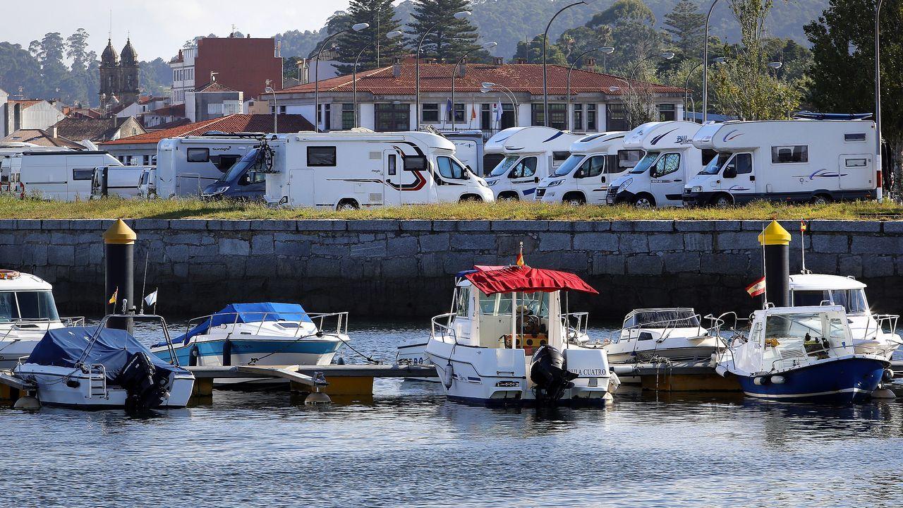 Salva Allo relata o altercado vivido o sábado coa Policía Local da Illa