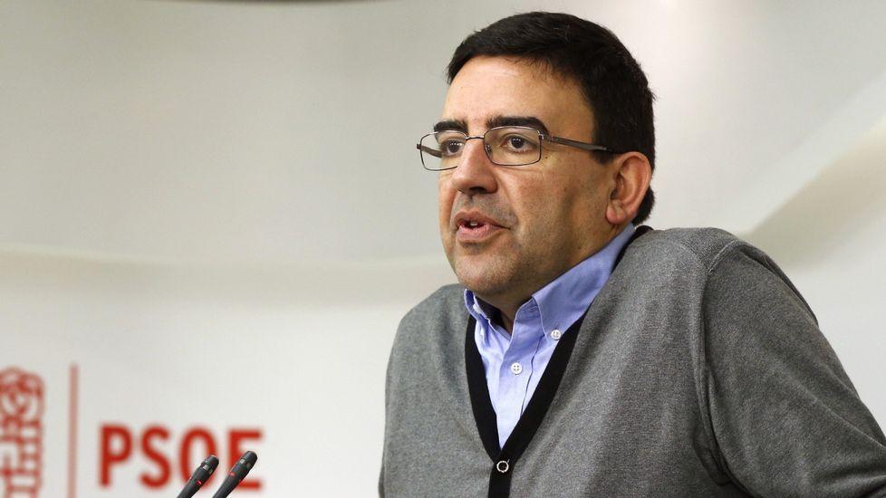 El PSOE aprueba el calendario del Congreso con críticas de los «sanchistas».Pedro Sánchez en El Entrego