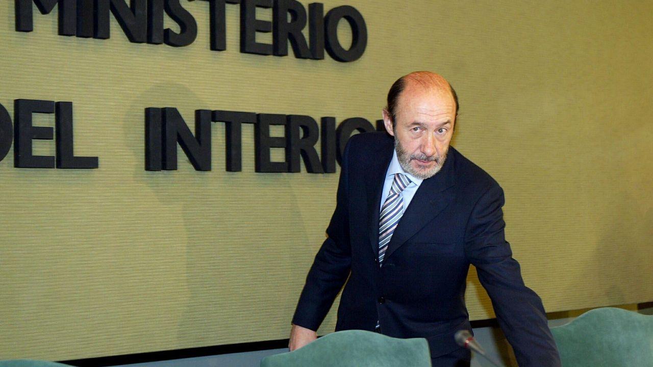 Como ministro del Interior en el 2006 durante la presentación del permiso de conducir por puntos