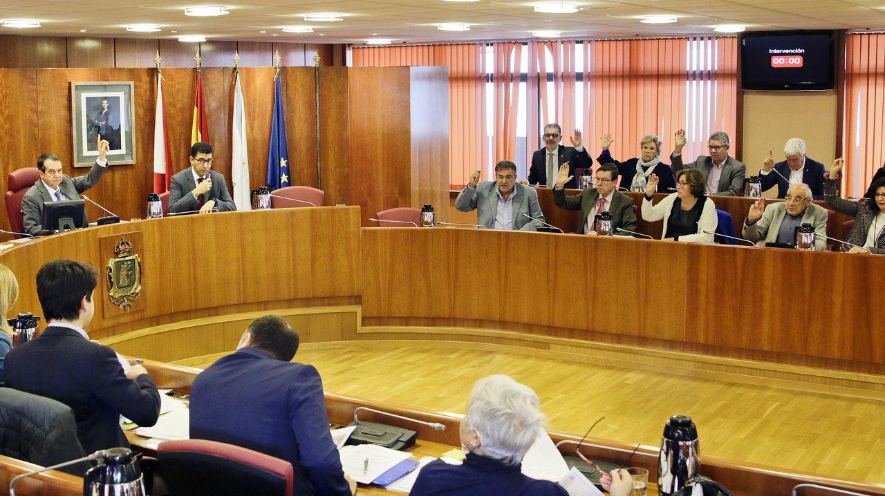 El pleno de Vigo debate sobre el aparcamiento del Cunqueiro y la ordenanza del IBI