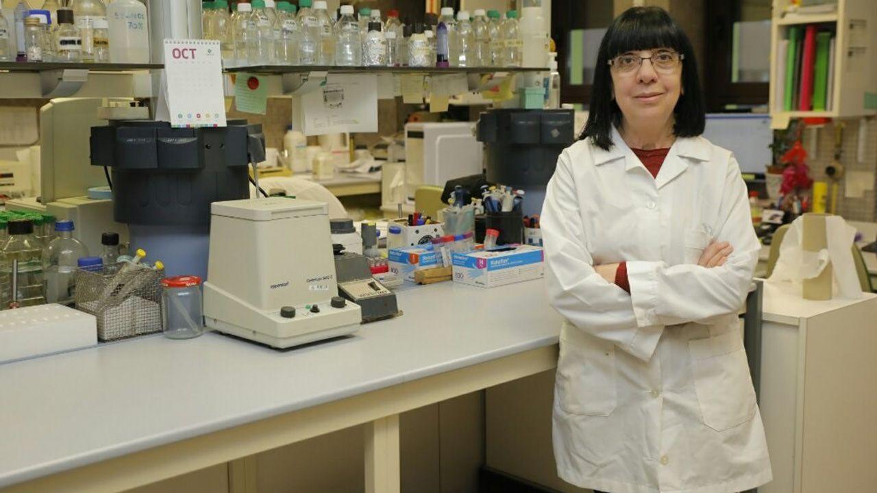 María Rosario Rodicio, catedrática de Microbiología de la Universidad de Oviedo