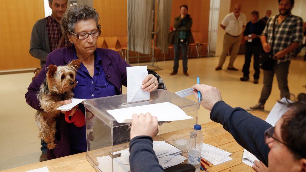 Jornada electoral en Galicia