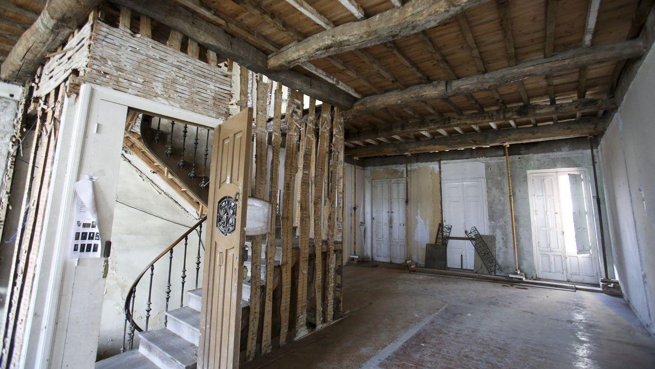 Imagen del interior de uno de los dos edificios de Ucha
