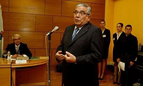 José Luis Calvo Pumpido fue nombrado presidente de honor del Padroado Fogar de Bergantiños hace unos días, durante la entrega de los Premios Carballés, Bergantiñán y Galego do Ano.