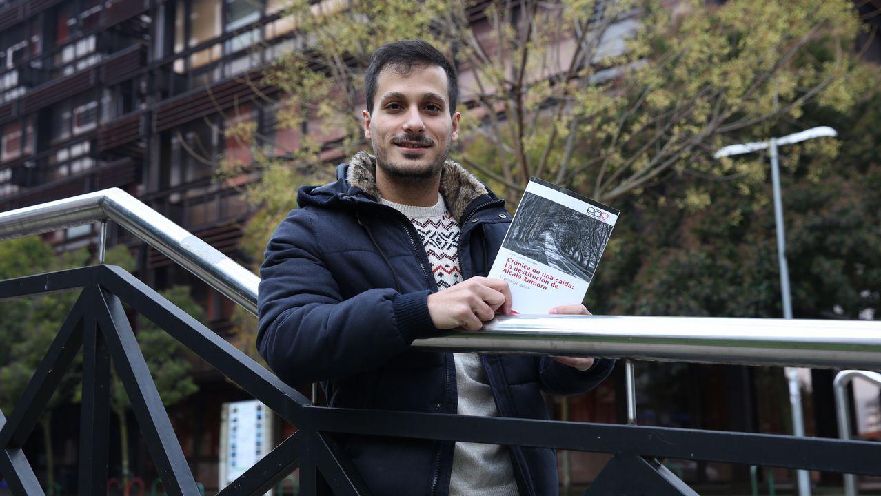 Carlos Lozano, autor de un libro sobre Alcalá Zamora.Emilio Trashorras
