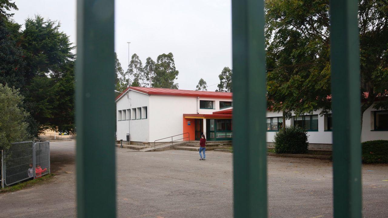 Entrada al servicio de urgencias del Hospital Montecelo, en Pontevedra