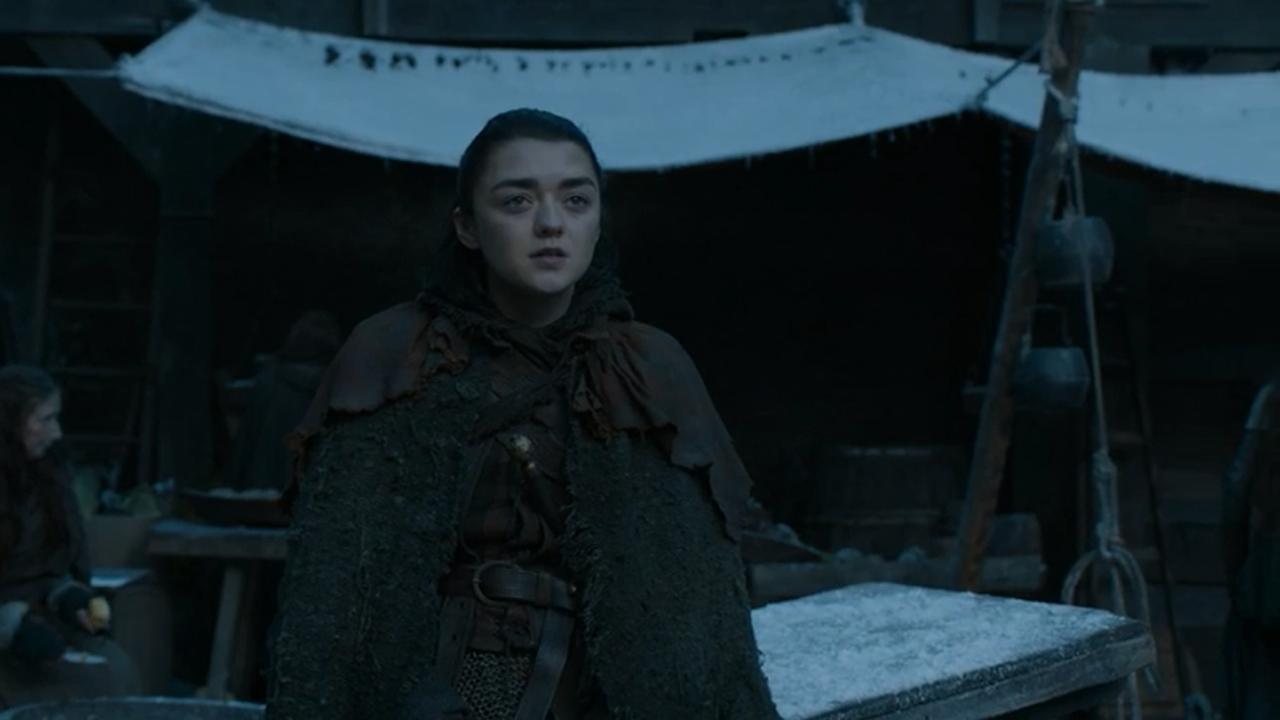 Arya en el episodio 7x04 de Juego de Tronos