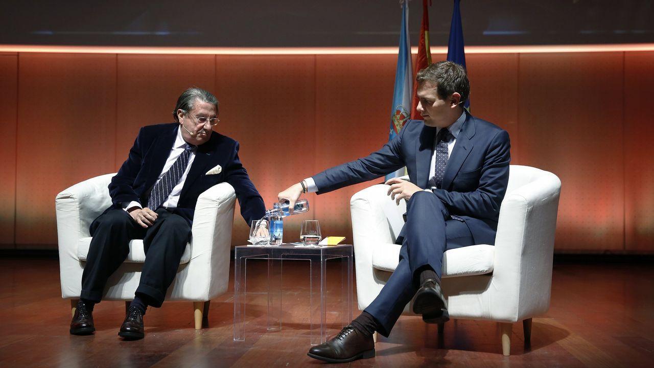 Vázquez y Rivera, juntos hace un mes en A Coruña