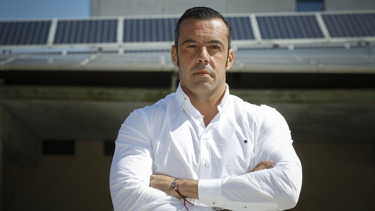 Fernando Romero, director general de la empresa pontevedresa