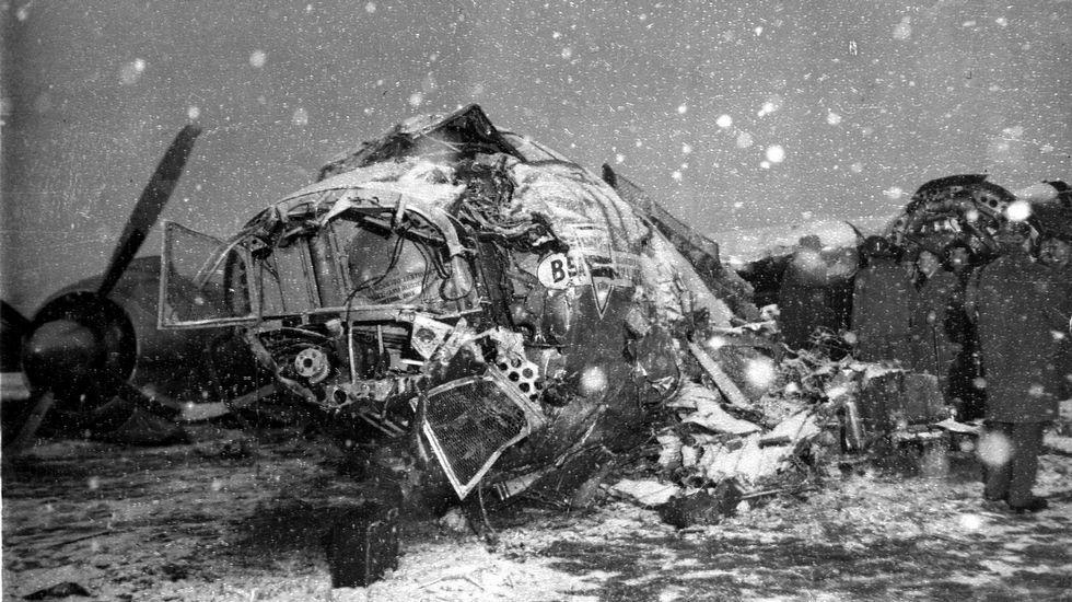 El angustioso rescate de un superviviente del vuelo del Chapecoense.Imagen del avión en el que viajaba el Manchester United