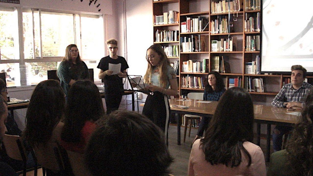 El IES María Soliño celebró el pasado curso un certamen de poesía en su biblioteca
