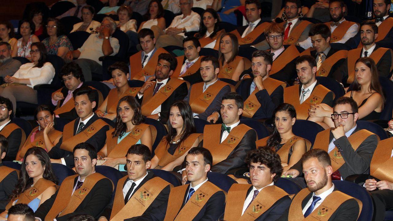 Acto de graduación en Minas antes del coronavirus