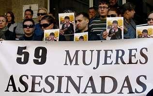 En Almería, donde vivía la última víctima de la violencia machista, se celebró ayer una concentración.