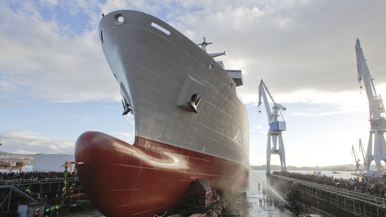 Navantia bota el Stalwart, el segundo buque logístico para la Marinade Australia.Su gemelo, el Supply, fue puesto a flote a finales de noviembre