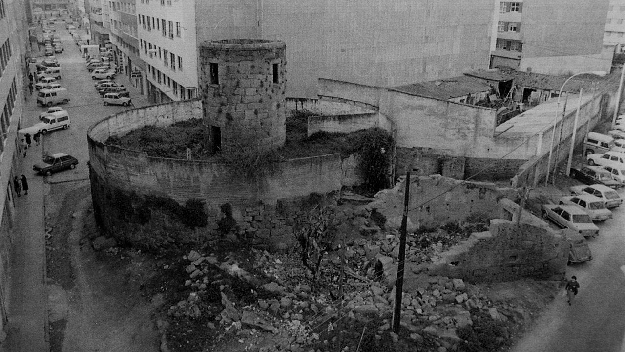 Antiguo muíño de vento na rúa Gramela, na Coruña