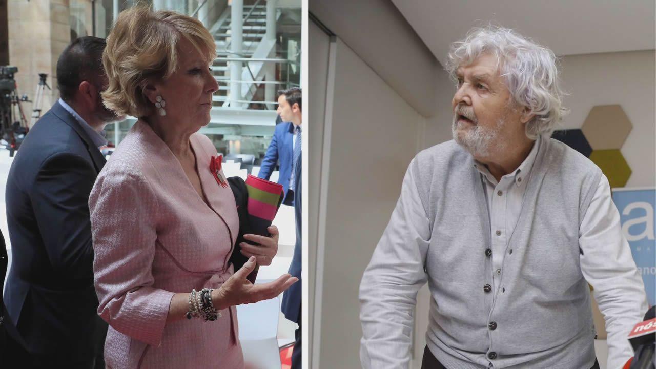 Casado saluda a Mercedes Fernandez en compañia de Susana Lopez Aares