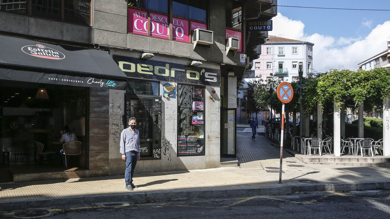 El edificio desalojado la semana pasada en Lugo