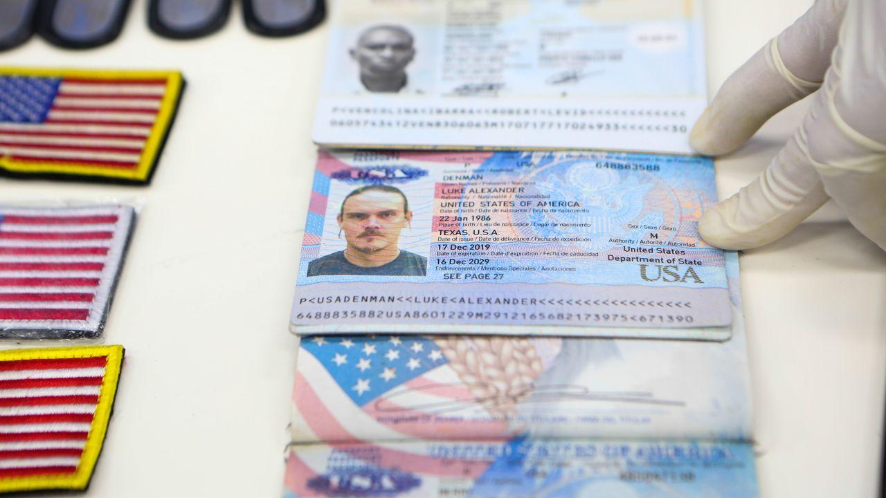 Maduro presentó los pasaportes de los ciudadanos estadounidenses