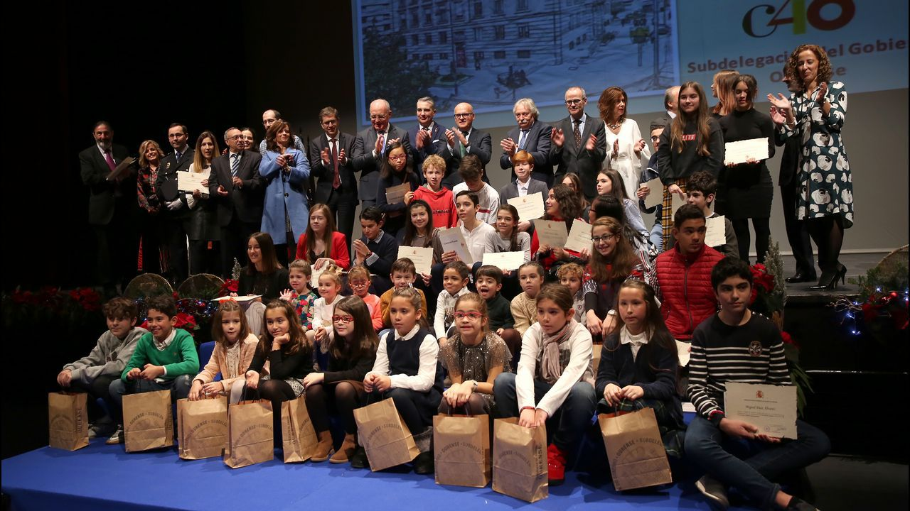 Ourense celebra la Constitución.Cristina Coto