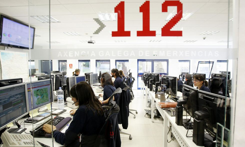 Los servicios del 112 tienen actualmente su sede en A Estrada