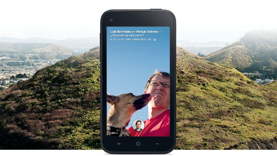 Así es el HTC First, el «smartphone» de Facebook