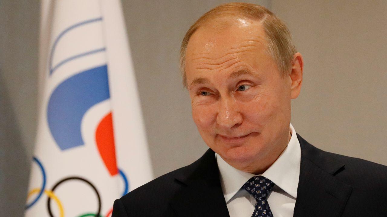 Vladimir Putin, en un acto el martes en la Universidad Olímpica de Sochi