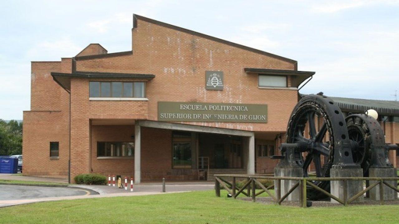 Laboratorio de la Universidad de Oviedo.Campus de la Universidad de Oviedo en Gijón