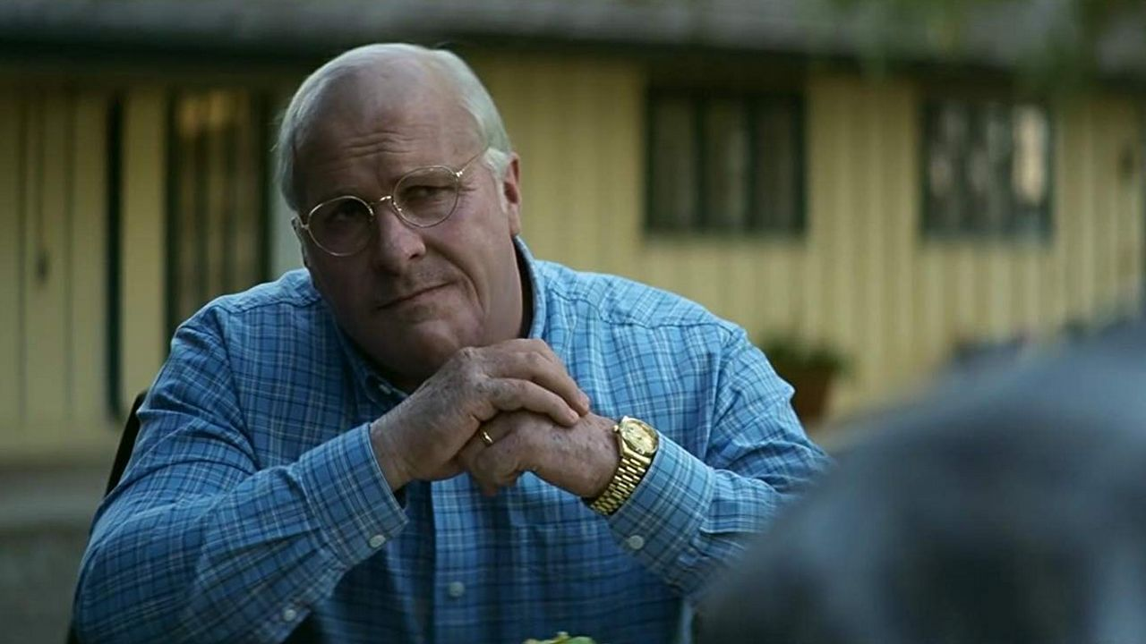| REUTERS.Christian Bale, caracterizado como Dick Cheney