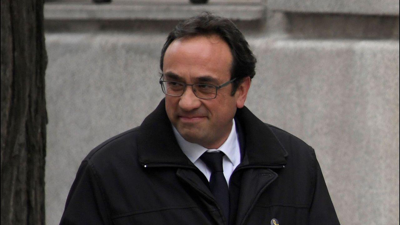 Josep Rull. Exconsejero de Territorio. Rebelión y malversación. En prisión