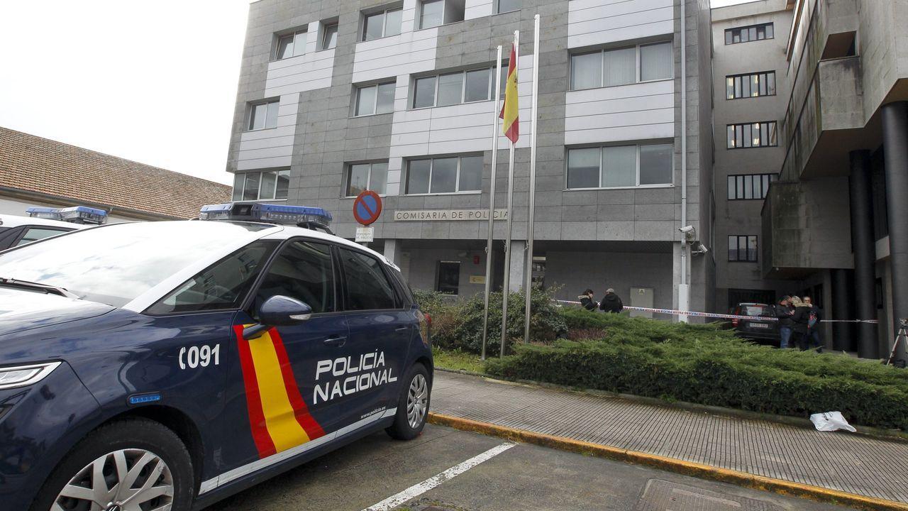Dos muertos por el siniestro de un supuesto kamikaze en Alicante.Imagen de archivo de una operación policial contra el yihadismo