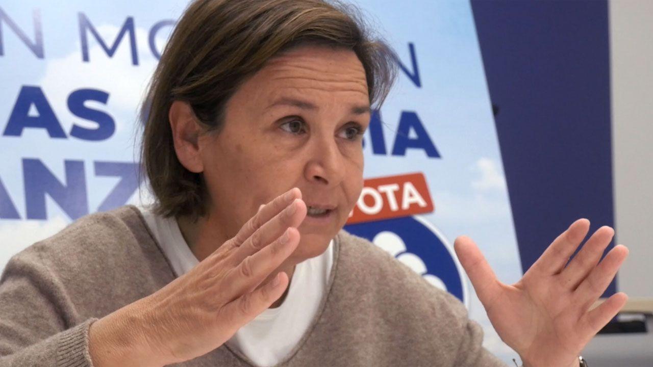 Entrevista a Carmen Moriyón, candidata de Foro a la presidencia del Principado.La candidata de Ciudadanos a la Alcaldía de Avilés, Carmen Pérez Soberón