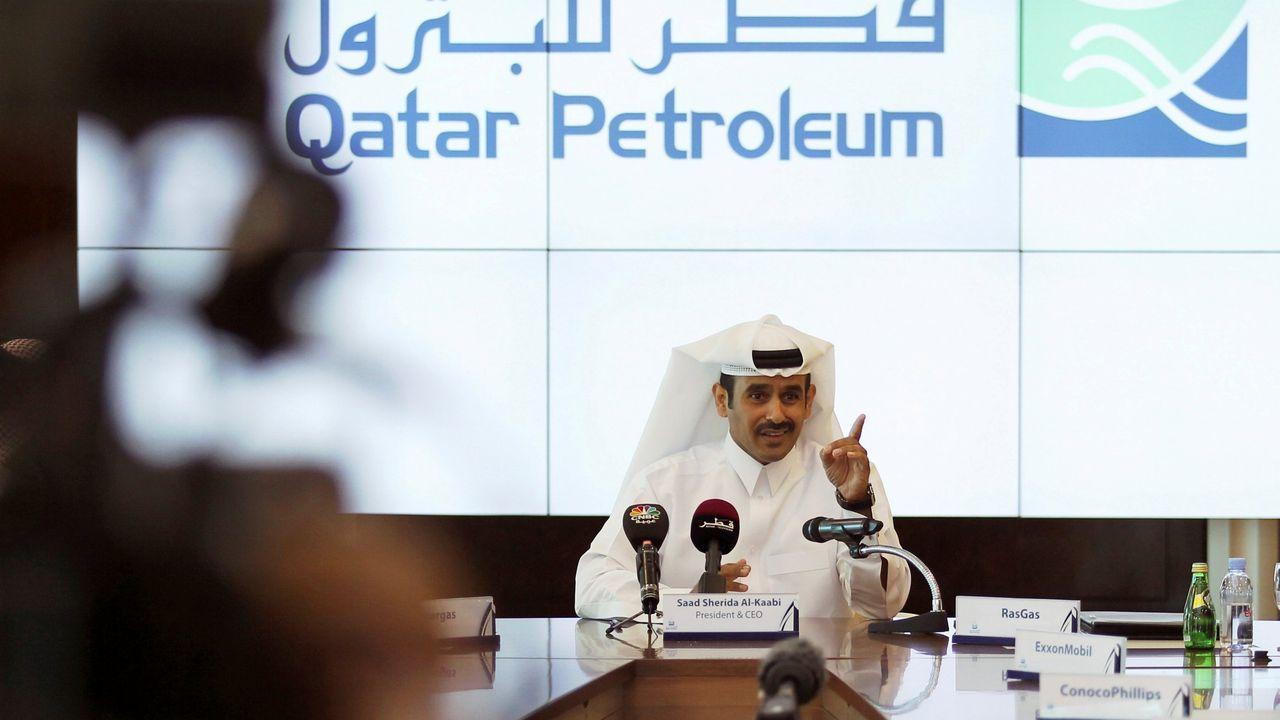 Saad al-Kaabi, jefe ejecutivo de Qatar Petroleum