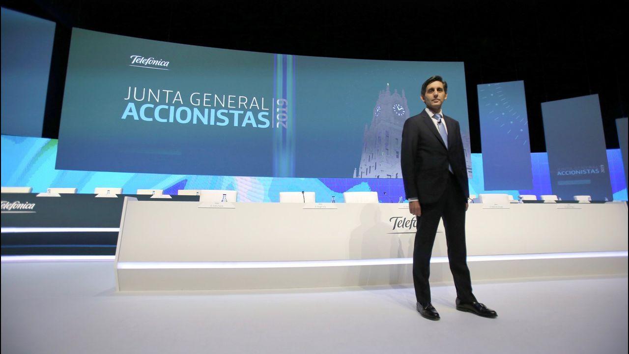 convocatoria entrenamiento Requexon Real Oviedo.José María Álvarez-Pallete, presidente ejecutivo de Telefónica