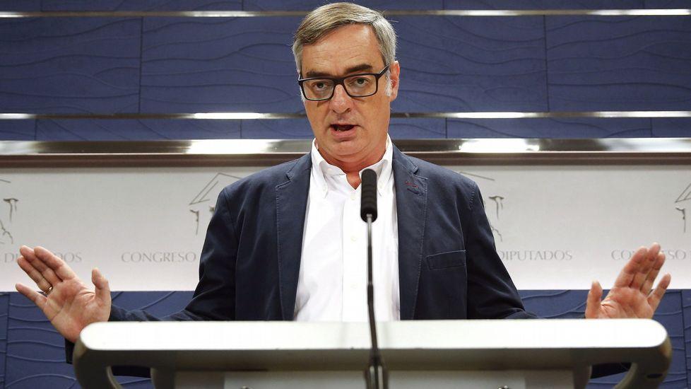 Rivera acepta «todos los debates que quieran, donde quieran».José Manuel Villegas, en una imagen de archivo