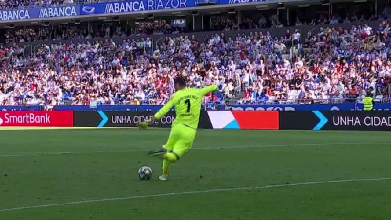Las mejores imágenes del Huesca - Deportivo