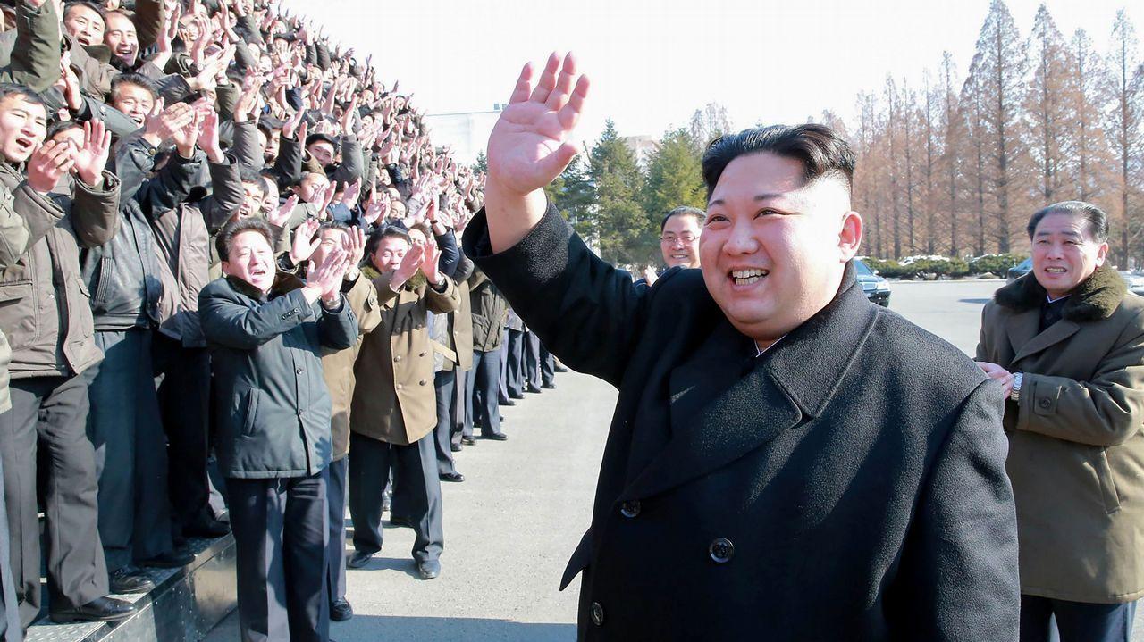 Ceremonia inauguración Juegos Olímpicos de Invierno 2018.Kim Jong-un