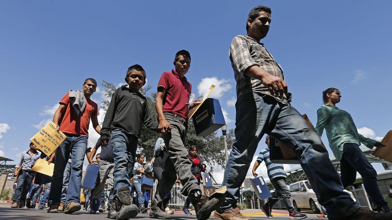 Familias de inmigrantes en Texas, Estados Unidos