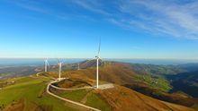 Parque eólico de Iberdrola en Asturias